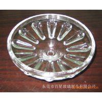 定制透明四方玻璃灯罩 雾酸玻璃灯罩 圆形玻璃灯罩 小玻璃灯罩