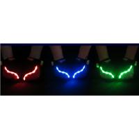 LED手套灯带高品质舒适山地自行车半指手套