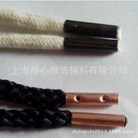 绳带金属头供应商|金属帽绳定做