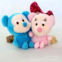 创意卡通毛绒玩具 米妮米奇小挂件 礼品车载玩偶 情侣米老鼠挂件