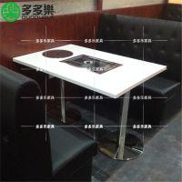 火锅烧烤一体桌, 韩式无烟涮烤桌 多多乐家具定做