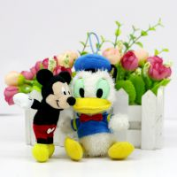 供应厂家直销么欧荣玩具迪士尼米奇米妮米老鼠 唐老鸭公仔来图定制