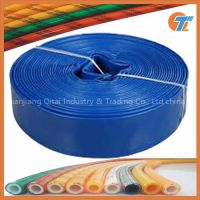 agricultural plastic lay flat irrigation hose pipe