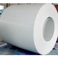 特供武钢热镀锌彩涂卷价格,材质TDC51D+AZ雪白交通白彩涂卷性价比高