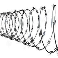 海润公司直销刀片刺绳丨滚笼刺丝丨刺网