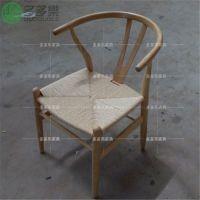 供应实木餐椅 古典餐厅草藤餐椅 多多乐家具定制