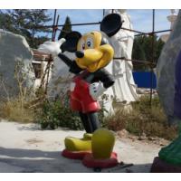 玻璃钢卡通动漫雕塑 米老鼠雕塑摆件