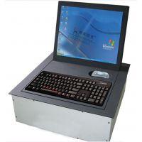 托克拉克品牌 厂家直销19寸液晶屏电动翻转器 成都会议桌液晶屏翻转器