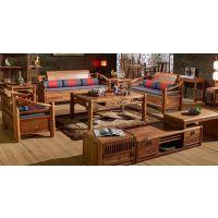 东阳非州花梨新中式家具卷书沙发价格大全