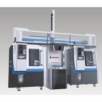宫铁精机 整机自动化 :精密CNC+3轴龙门机械手