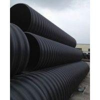 HDPE钢带增强缠绕排水管销售批发