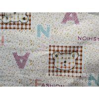 SK-0233#长期供应全棉卡通印花布 儿童婴儿床 被套床单 枕套面料