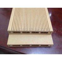 木塑复合材料 防潮防滑地板145H21C 塑木空心地板 高档环保木塑材料