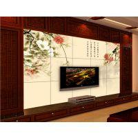 厂家直销 美盛苑 3d玉雕电视背景墙