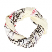 竹纤维夏防晒披肩围巾两用长款丝巾百搭方巾 员工福利礼品会议礼品定制 款式多样