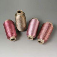 厂家供应高品质申光牌MX型纺织金银线 有超细规格1/169″