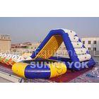 0.6mm PVC Outdoor Inflatable Garden Water Slide For Trampoline Water Park
