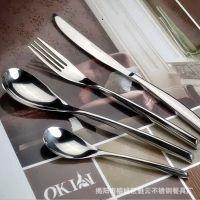 意大利sambonet 西餐餐具 304刀叉 不锈钢西餐刀叉勺四件