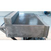 大型落地镗铣机床钢板防护罩 1Cr13防护罩