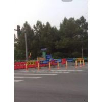 道路划线施工人行道