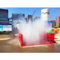 供应黄石市建筑工地用洗轮机现场施工情况 诺瑞捷环保