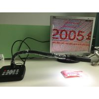 鸿铭晟全高清便携式展台HMS-5200带HDMI/VGA,A3幅面,可更改开机LOGO