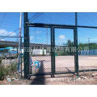 篮球场PE塑化网/勾花网 运动场地围网围栏护栏网 围网工程施工