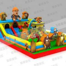 新款中大型儿童淘游乐设备 婴儿充气玩具城堡 蹦跳床优品娱乐