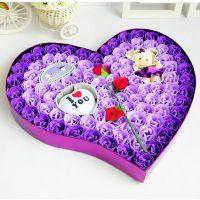 圣诞节浪漫礼物99朵香皂玫瑰礼盒创意生日礼品送女友肥皂花