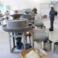 鼎达特价供应电动石磨机 小麦磨面粉专用电动石磨机