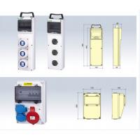 工业防水航空插座箱配电箱弱电箱组合插座箱工程配电箱PC塑料空箱