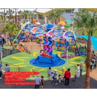 天津童星游乐风筝飞行游乐设备风筝飞行全景图片不一样的玩法