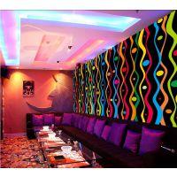 主题KTV背景壁画 餐厅装修个性壁纸 KTV包厢专用3d墙布