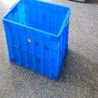【利众塑业】厂家批发供应塑料周转箱 575-350箱 蓝色全新料 江苏南京