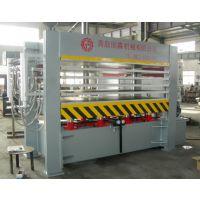 国森机械生产各种蜂窝板压贴热压机生产线