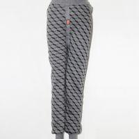 2014新款加厚加肥男士保暖裤批发 纯色印花三层不倒绒男式热能裤