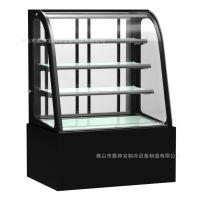 单弧冷藏展示柜 面包坊店蛋糕展示 广东冷柜 蛋糕柜尺寸