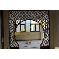 中式不锈钢花格,间厅不锈钢屏风定制