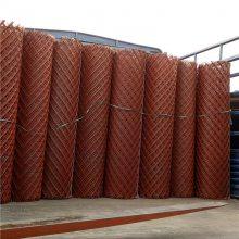 旺来六角钢板网 护栏钢板网 菱型拉伸网生产厂家