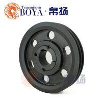 皮带轮铸造采购spa140-02选无锡帛扬锥套皮带轮厂家