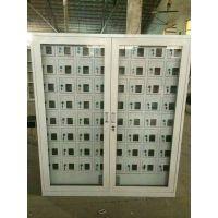 西安企业手机存放充电柜定做运鑫公司采用加厚钢制板材制造