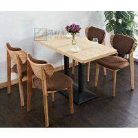 天津8人连体餐桌椅 天津食堂餐桌椅 职工餐桌椅