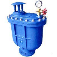 君昊铸铁复合式排气阀批发 CARX系列 自来水长输管道快速排气空气 连续不间断