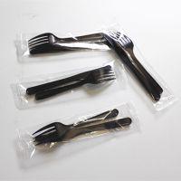 供应全自动一次性塑料勺子、叉子枕式三边封包装机械厂家