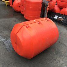 威海红色拦污浮体 营口塑料空心浮球 聚乙烯浮筒