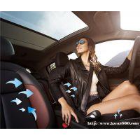 中山皇者汽车空调座椅通风系统 凉垫冷风透气座垫 汽车通风坐垫