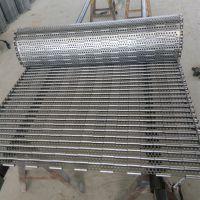 超低价不锈钢链板 排屑机链 金属防跑偏网带 瑞源超长质保