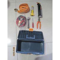 7合1汽车应急工具箱 工具套装 救生锤 自驾游急救包 维修工具包