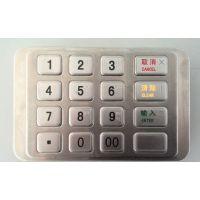 NCR6635EPP密码键盘 政通ZT598-L12密码键盘