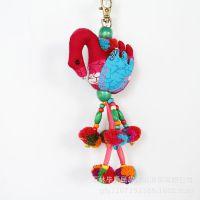 特价直销 个性创意天鹅挂件 时尚民族风包包挂件 挂饰 包挂